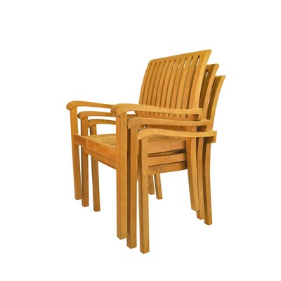 Anderson Teak Aspen Stackable Armchair (Set of 4)