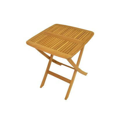 "Anderson Teak Windsor 24"" Square Picnic Folding Table"