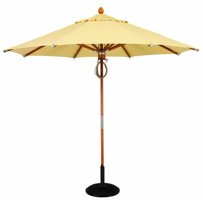 Fiberbuilt 9' Prestige Wood Umbrella