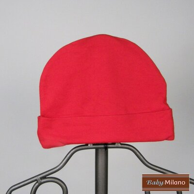 Baby Milano Beanie Hat in Red