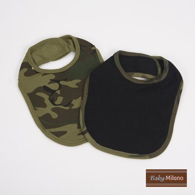 Bib Gift Set in Green Camouflage
