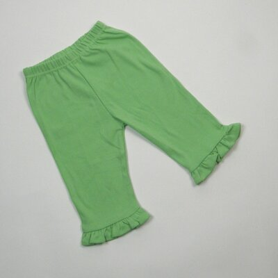 Baby Frilled Pants in Lime Green