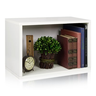 Way Basics Eco-Friendly Rectangle Plus Storage Unit