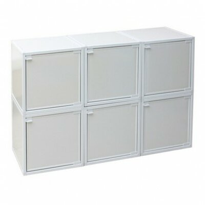 6 Cube Modular Storage Box