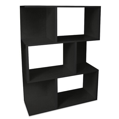 Way Basics Eco-Friendly Madison Bookcase in Black