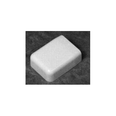 "Morris Products 1.5"" End Cap and Reducer in White"