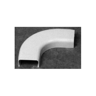 Morris Products 600 Volt 90 Degree Flat Elbow in White