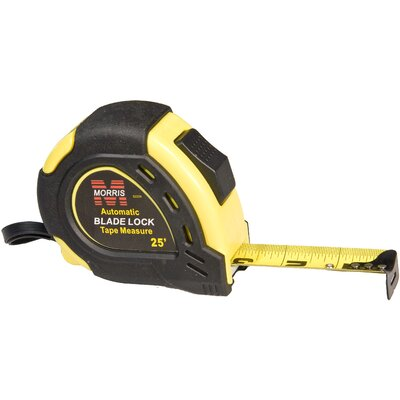 Morris Products Automatic Blade Lock Measuring Tape