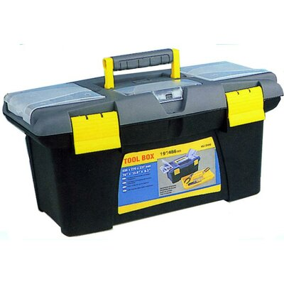 "Morris Products 16"" Plastic Tool Boxes"