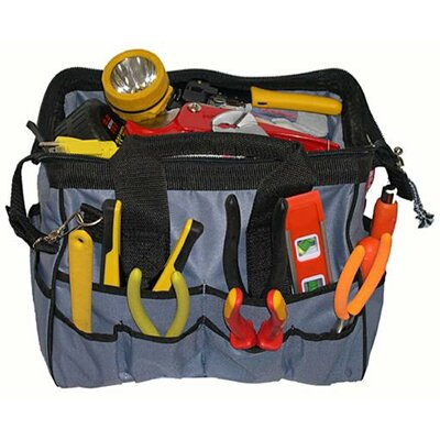 Morris Products Small Easy Search Tool Bags with Plastic Tray