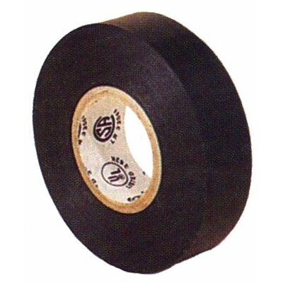 "Morris Products 0.75"" Premium Grade Electrical Tape in Black"