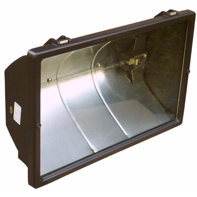 Morris Products 240V 1500W Quartz Floodlight in Bronze