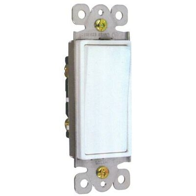 Morris Products 15A-120/277V 3 Way Decorator Switches in White