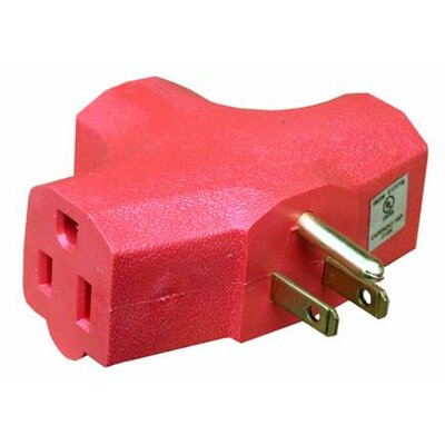 Morris Products 3 Outlet Power Adapter