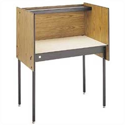 Da-Lite Steel Alpha Study Carrel Desk