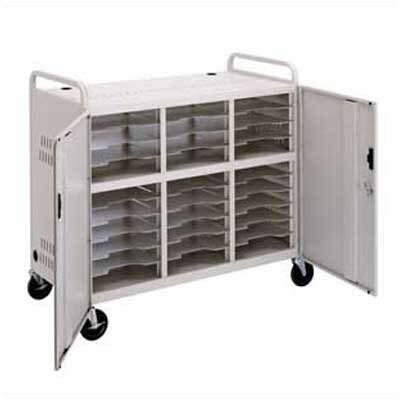Da-Lite 30-Compartment Storage Cart
