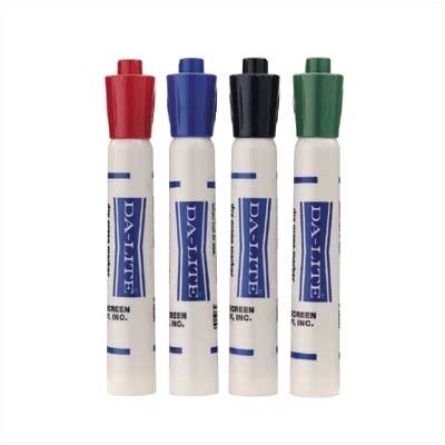 Da-Lite Dry Erase Marker (1 Dozen, All One Color)