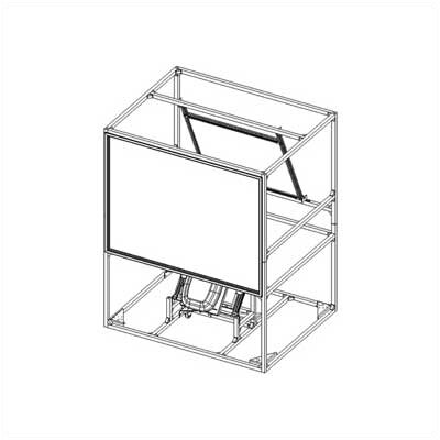Da-Lite Da-View: Ultra Stand Alone Rear Projection Enclosure