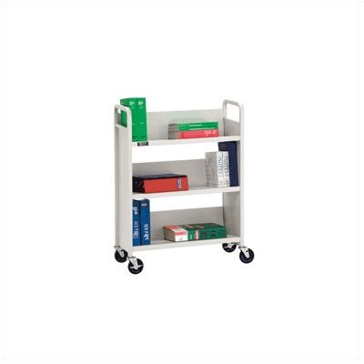 Da-Lite Advance 3-Shelf Booktruck