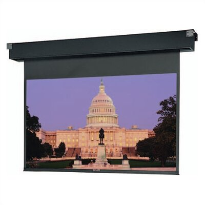 Da-Lite 77657 Dual Masking Electrol Motorized Projection Screen - 69 x 92""