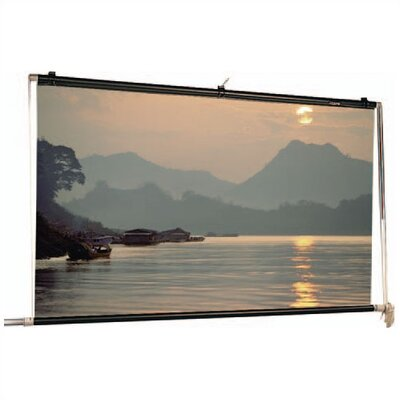 "Da-Lite Matte White Scenic Roller Manual Screen - 13'6"" x 18'"