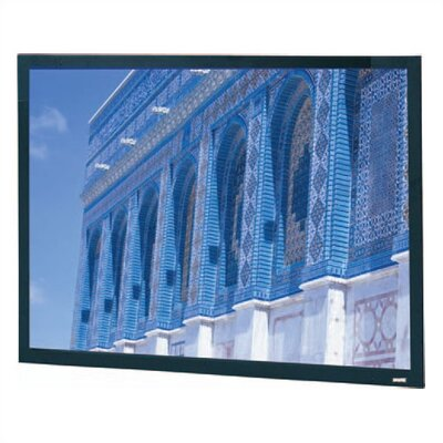 "Da-Lite High Contrast Da-Mat Da-Snap Fixed Frame Screen - 50"" x 80"" 16:1 Wide Format"
