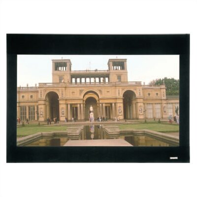"Da-Lite High Contrast Da-Mat Multi-Mask Imager Fixed Frame Screen - 54""x 96"" HDTV Format"