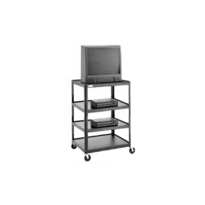 "Da-Lite Pixmobile 25"" x 30"" Multi-Shelf Adjustable Television Cart"