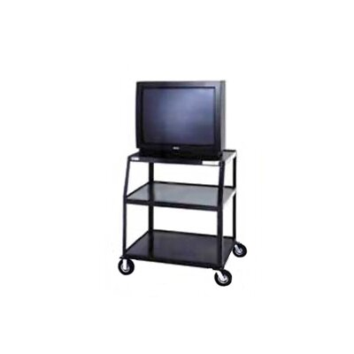 "Da-Lite Pixmate 24"" x 38"" Shelf Television Cart With 5"" Casters [41"" Height]"