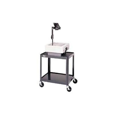 "Da-Lite Pixmobile Projection Cart With Adjustable 18"" x 24"" Shelf [28"" - 42"" Height]"