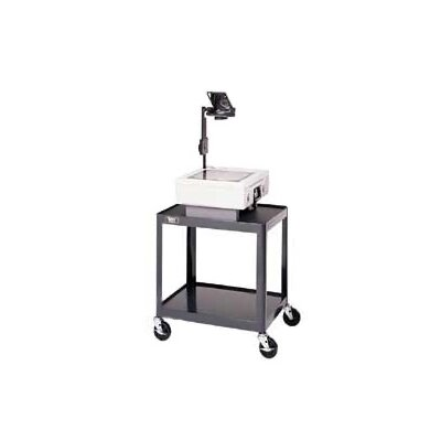 "Da-Lite Pixmobile Projection Cart With 18"" x 24"" Shelf [17"", 26"", 34"", 42"" Height]"