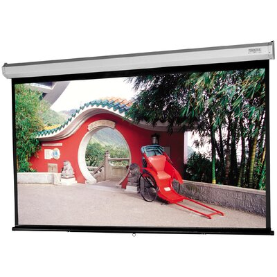Da-Lite Model C with CSR Silver Lite 2.5 Manual Projection Screen