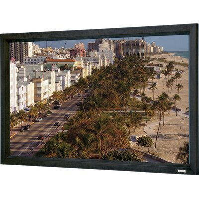 Da-Lite Cinema Contour 3D Virtual Black Fixed Frame Projection Screen