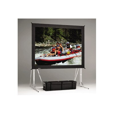 "Da-Lite Dual Vision Heavy Duty Deluxe Fast Fold Replacement Front and Rear Projection Screen - 10'6"" x 14'"