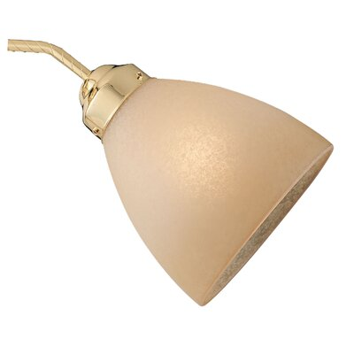 Concord Fans Neckless Shade in Antique Amber Scavo