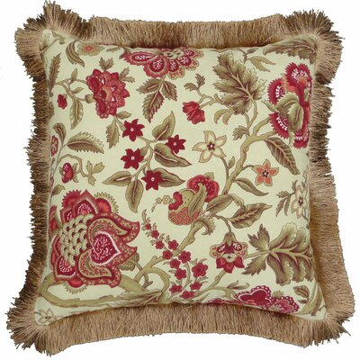 Imperial Dress Brick Square Reversible Pillow