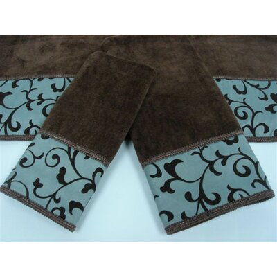 Becall Decorative 3 Piece Towel Set