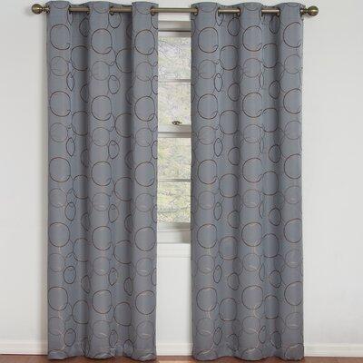 Eclipse Curtains Meridian Grommet Window Curtain Single Panel