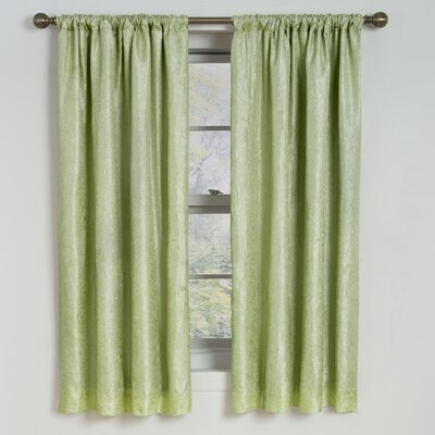 Eclipse Curtains Milano Blackout Rod Pocket Window Curtain Single Panel