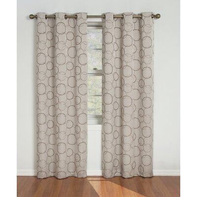 Eclipse Curtains Meridian Grommet Window Curtain Single Panel