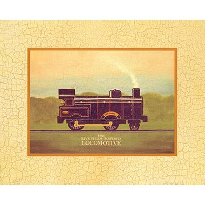 Art 4 Kids Locomotive Wall Art