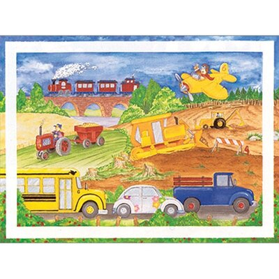 Cars Trucks Airplanes Wall Art