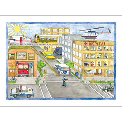 Art 4 Kids Neighborhood Heroes Wall Art