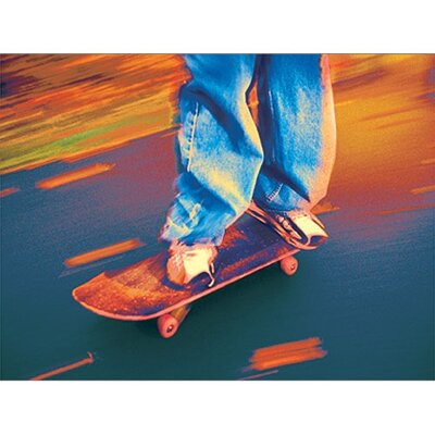 Art 4 Kids Skate Boarder I Canvas Art