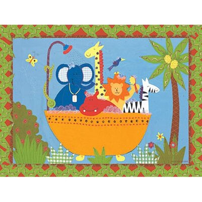 Art 4 Kids Bath Tub Pals Wall Art