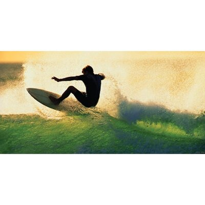 Art 4 Kids Sundown Surf Wall Art