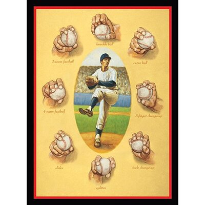The Art of the Pitch Wall Art