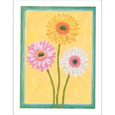 Art 4 Kids Spring Fantasy II Floral Wall Art