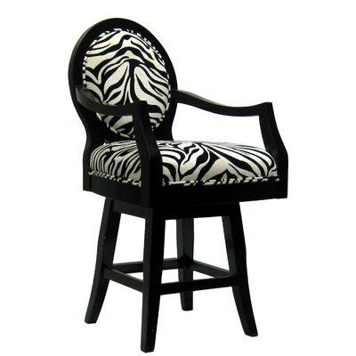 Zebra Bar Stool