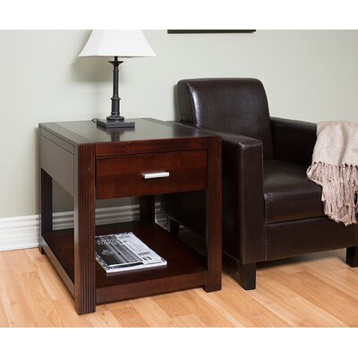 Martin Home Furnishings Carlton Entertainment End Table